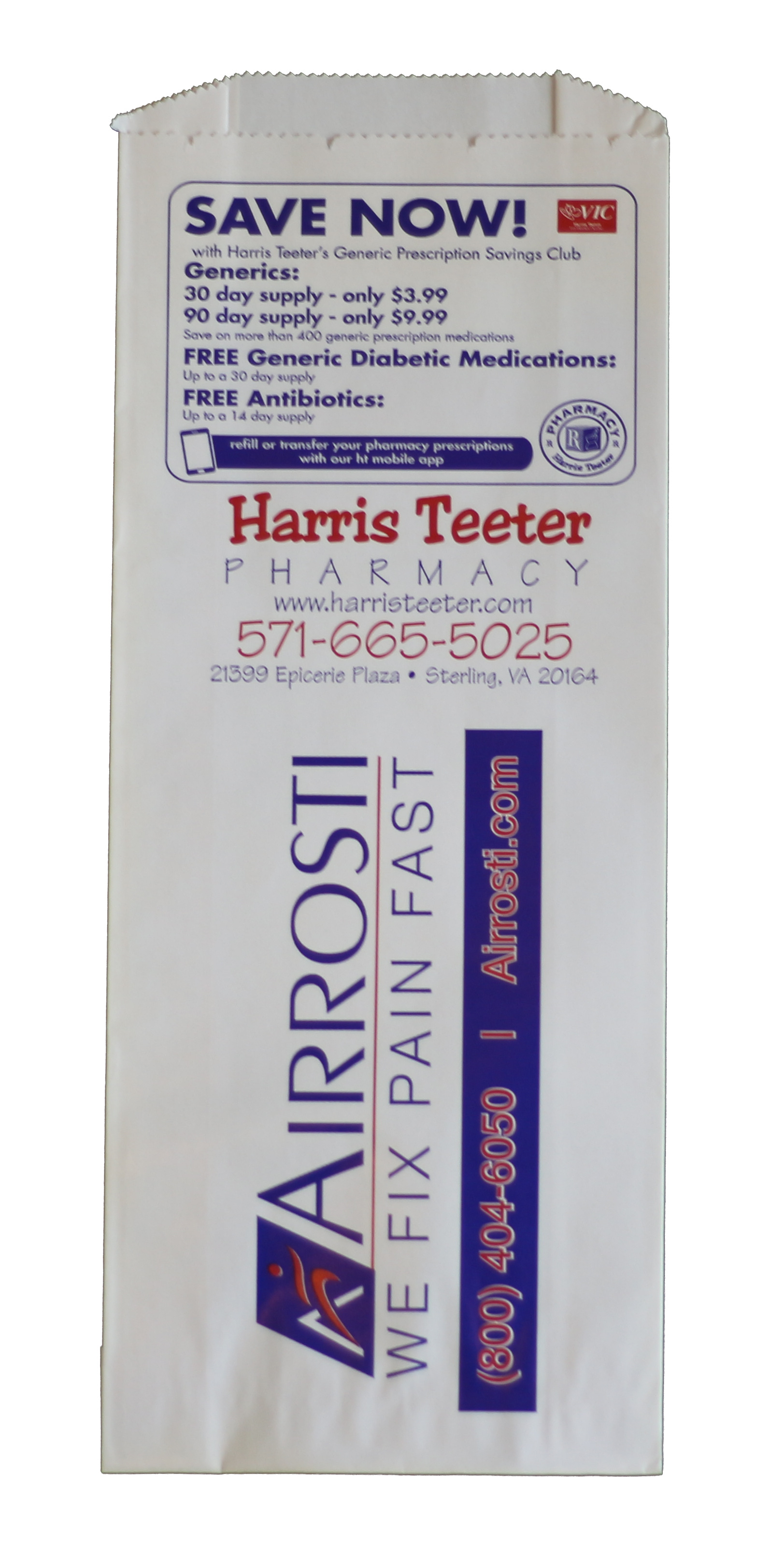 Harris Teeter 2 - Rx Express Marketing - Free Prescription Bags and ...